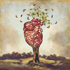 Love Tree by Paula Belle Flores