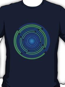 Sectors blue/green T-Shirt