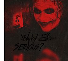 The Joker phone case by ANamelessPerson