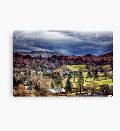 Grasmere Landscape Canvas Print