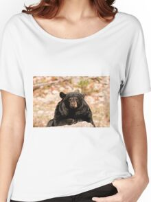 May I help you!!!! - black bear Women's Relaxed Fit T-Shirt