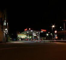 Texaco, Lewisham Hill by karentolson