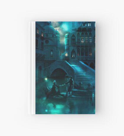 Venice Moon Hardcover Journal