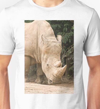White Rhino  Unisex T-Shirt