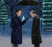 Mystrade - Christmas Eve by Clarice82