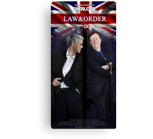 Mystrade - Law&Order Canvas Print