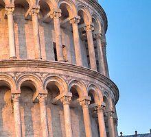 The Leaning Tower of Pisa by armiller007