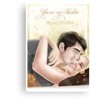Pushing Daisies - Nolive - You are my Sunshine Canvas Print