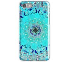 Persian princess -turquoise  iPhone Case/Skin