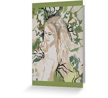Haole Hawaiian Goddess Greeting Card