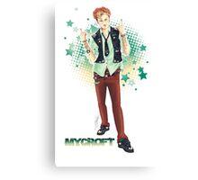Punk!lock - Mycroft Canvas Print