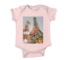 Springtime Eiffel in HDR One Piece - Short Sleeve