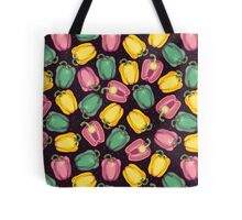 epic bell peppers in space Tote Bag