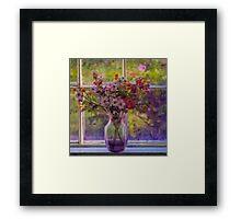 The Color Purple.... Framed Print