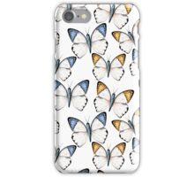 Tropical butterflies iPhone Case/Skin