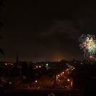 Fireworks over Worcester by Lissywitch