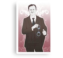 Mystrade - Typical Items - Mycroft Canvas Print