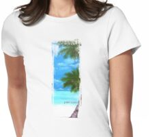 Palm Trees 2 Womens Fitted T-Shirt