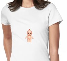 Kewpie doll Womens Fitted T-Shirt