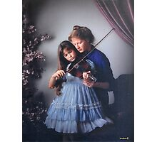 music lesson Photographic Print