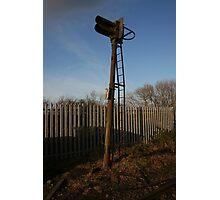 Signal Box Photographic Print