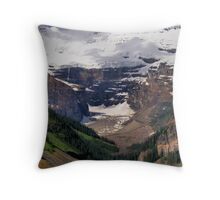 Victoria Glacier - Lake Louise, Banff Throw Pillow