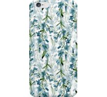 Blue branches iPhone Case/Skin