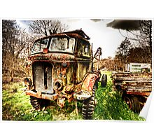 Fordson Truck Poster