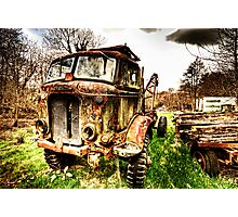 Fordson Truck Photographic Print