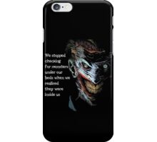 Creepy Joker iPhone Case/Skin