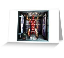 "Ecce Homo 92 ""MARTYRS - tears of eros "" Greeting Card"