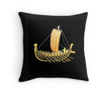 Antigue Russian vessel  11th century Throw Pillow
