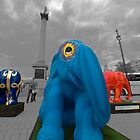 Colourful Elephants of London by JLaverty