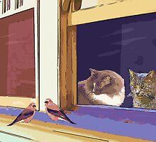 Bird Watching by Lisann