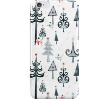 Christmas Tree Forest iPhone Case/Skin