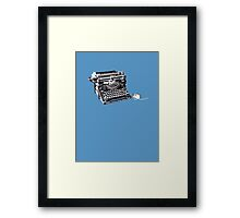 The original keyboard and mouse Framed Print