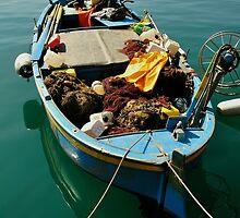 Fishing Boat, Porto Azzurro by itchingink