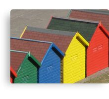 Red and Yellow and Blue and Green Canvas Print