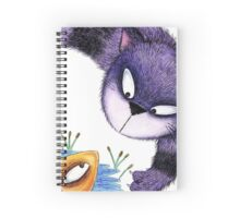 MINXY CAT & FISH Spiral Notebook