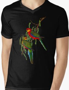 Western Rosella Mens V-Neck T-Shirt