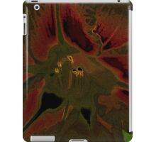 Inflorescence of Allium aflatunense iPad Case/Skin