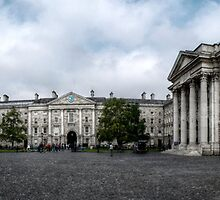 Trinity College - Dublin  by LauraBenassi