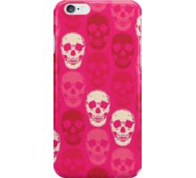 Saccharine Skulls iPhone Case/Skin