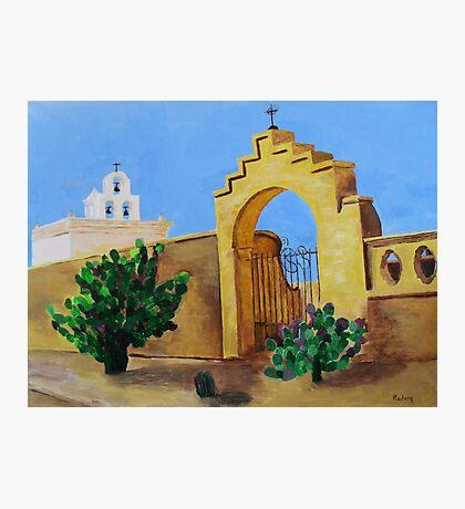 Mission San Xavier Photographic Print