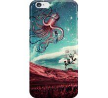 Sunrise Flight on Purple Planet iPhone Case/Skin