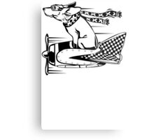 Canine Aviator Metal Print
