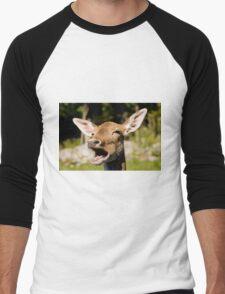 Blah Blah Blah!!! - Fallow deer Men's Baseball ¾ T-Shirt