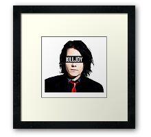 "Gerard Way ""Killjoy"" My Chemical Romance Framed Print"