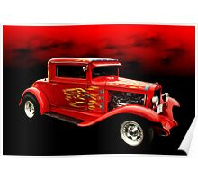 1931 Chevrolet Coupe Street Rod Poster