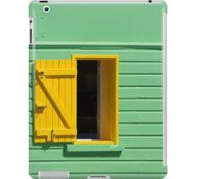 Green Wall, Yellow Window iPad Case/Skin
